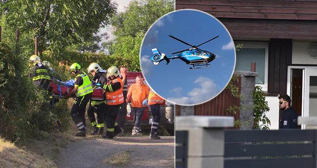 Muž v Kostelci postřelil seniorku (82): Není to poprvé, co stiskl spoušť, říká policie