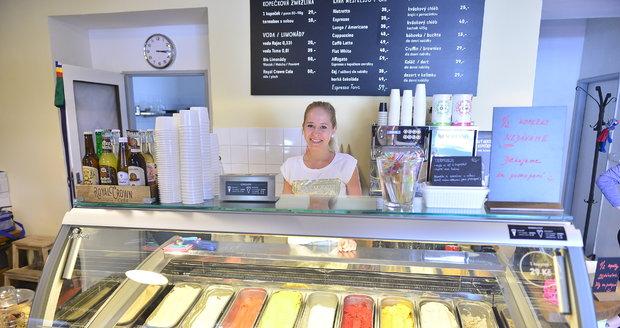 Zmrzlinárna v Braníku nabízí návštěvníkům řadu netradičních příchutí.
