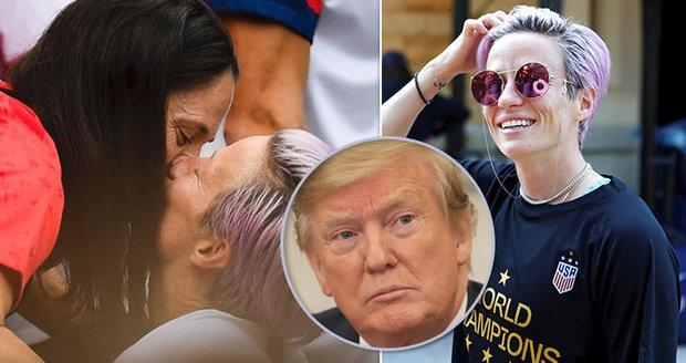 """Lesba proti Trumpovi: Kapitánka """"setřela"""" prezidenta a sklízí ovace za skvělý projev"""