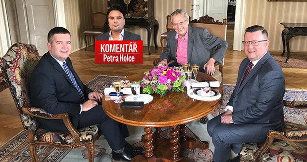 Komentář: Zeman podal ČSSD záchranný prst. Snese i facku, nebo půjde z vlády?