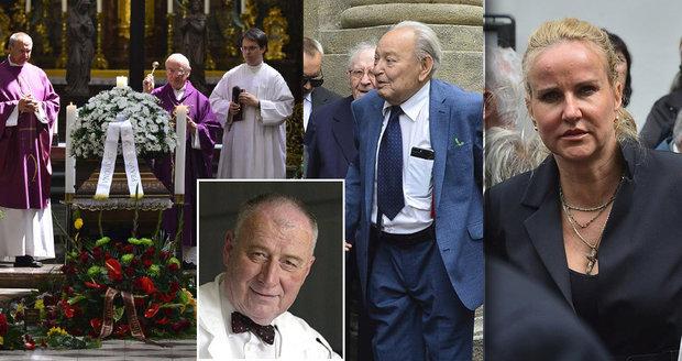 S onkologem Kouteckým (†88) se rozloučily stovky lidí. I Pizingerová, Klener a Zima