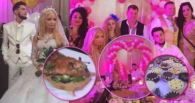 Romská svatba roku! Viktor (18) poznal krásnou modelku pár dní před veselkou