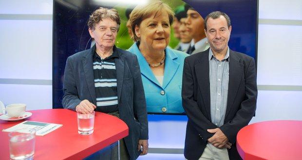 """""""Už jenom dožívá."""" O třesech Merkelové i jejím konci promluvili experti"""