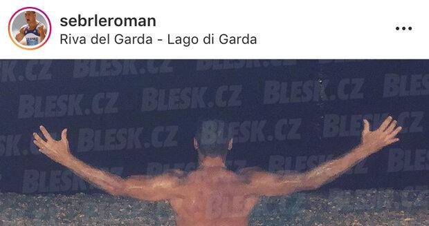 Roman Šebrle se na sociální síti ukázal nahý