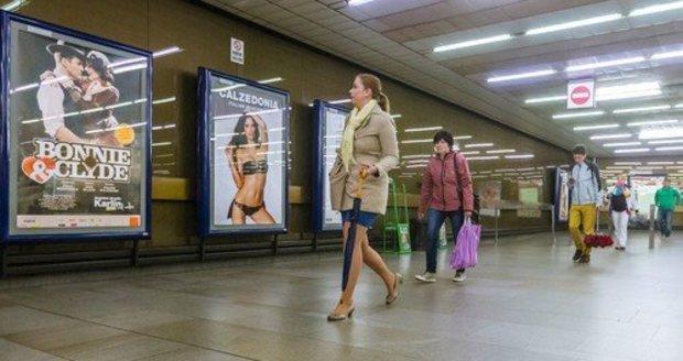 Reklamní plochy v Praze