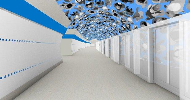 Takhle by mohl vypadat prostor Olbrachtovy. Autorem je Vladimír Kokolia.