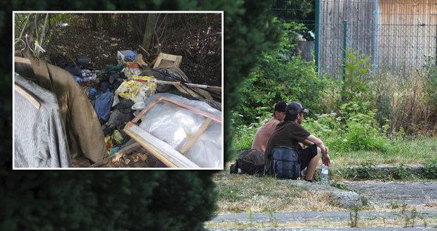 Nový Jičín se rozhodl vytlačit bezdomovce z centra. Dělají tam nepořádek.