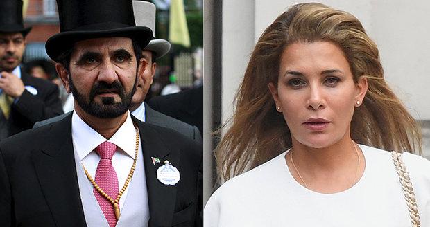 """Princezna Hajá u soudu prosí o ochranu svých dětí. Šestá žena šejcha z Dubaje """"procitla"""""""