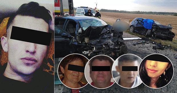 Honza zabil za volantem otce (†52), sestru (†26) a další dva nevinné (†51 a †62): Byl zdrogovaný!