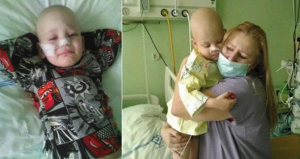 """Toník (6) jde místo do školy na chemoterapii. """"Svině se vrátila,"""" hlesla maminka"""
