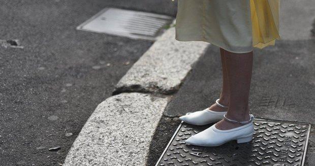 Bílé boty