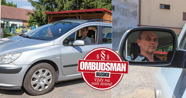 Michal Mačát (45) nesouhlasil s penězi, které mu pojišťovna za zničené vozidlo zaslala, a obrátil se pro pomoc na Ombudsmana Blesku.