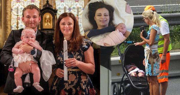 Po nehodě s Brožovou vzala Jermanová dceru do kostela. A dala jí druhé jméno