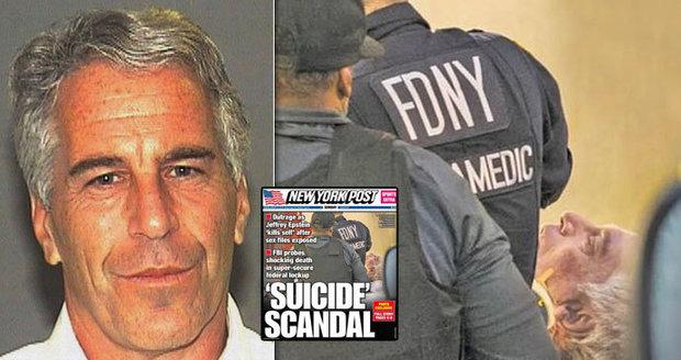 Detaily smrti miliardáře Epsteina: Cela jako prasečí chlív, jedl ze země a nekončící WC potřeba, tvrdí spoluvězni
