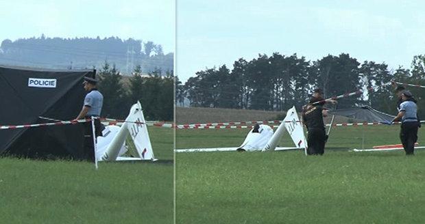 Letecké neštěstí na Vysočině! Pilot nepřežil pád kluzáku
