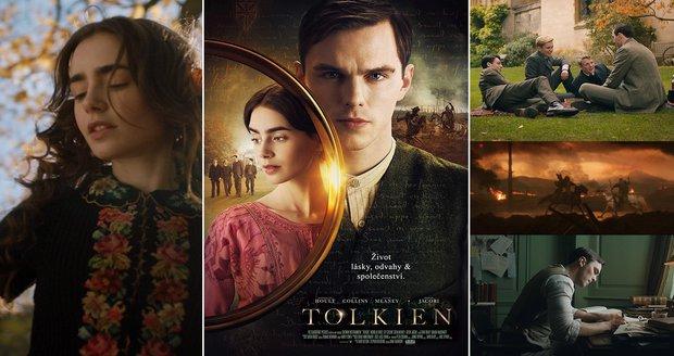 Tolkien: Autor dobrodružství, která okouzlila generace, ve snadno zapomenutelném filmu
