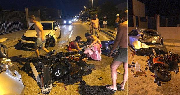 Motorkáře Šimona (27) v Chorvatsku srazil opilec: Zlámal bych mu všechny kosti, zuří