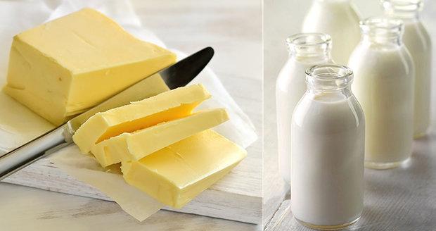 Další zdražení másla a mléka na dohled? Kostka za 27 korun je minulost, přiznal odborník