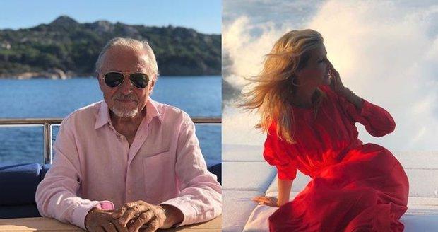Celebrity na dovolené