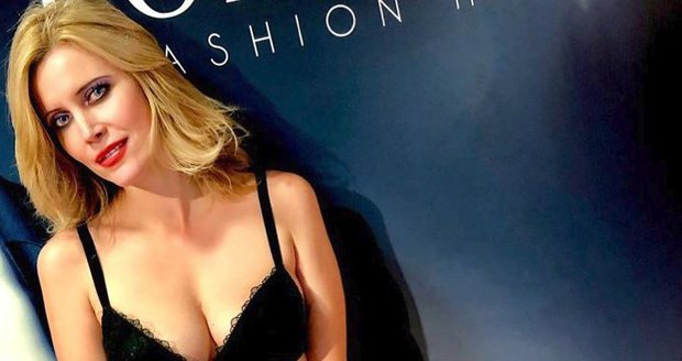 Krásná Silvia Šuvadová nafotila kampaň jenom v prádélku.
