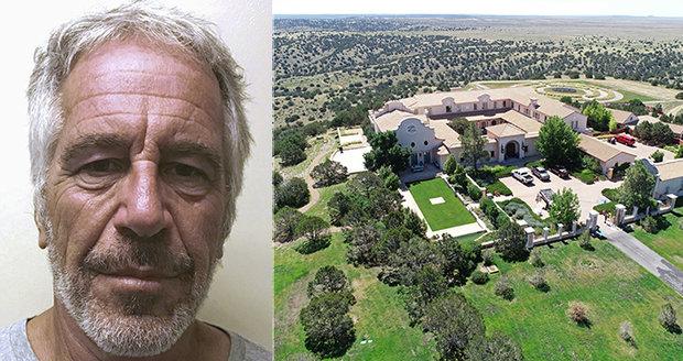 Epsteinův ranč hrůzy: Tady zneužíval nezletilé a plánoval oplodňovat ženy spermatem vědců