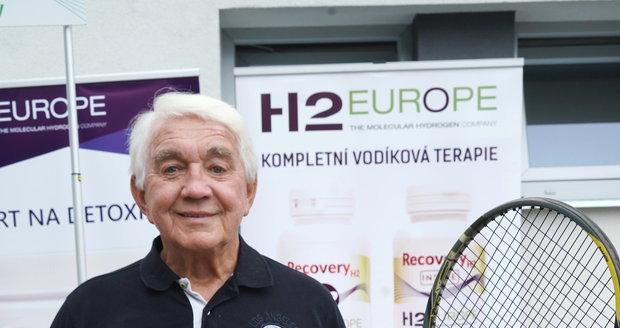 Jiří Krampol na tenisovém turnaji