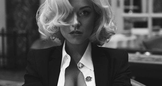 Dominika Myslivcová při focení pro Playboy