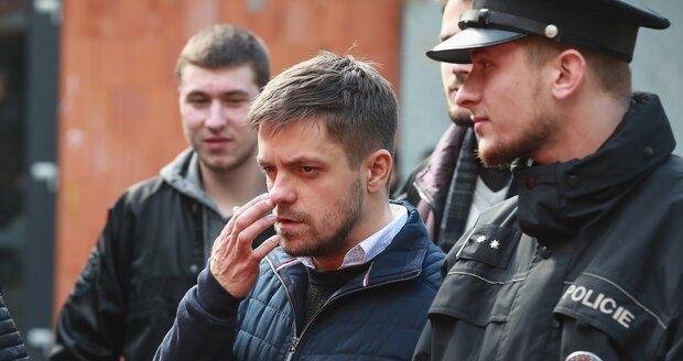 Jiří Mádl při natáčení seriálu Sever