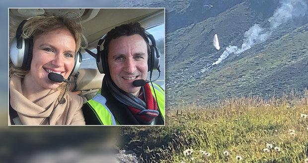 Při pádu letadla zahynul slavný skladatel (†50), jeho manželka a malá dcerka (†8 měs.): Zřítili se v Alpách