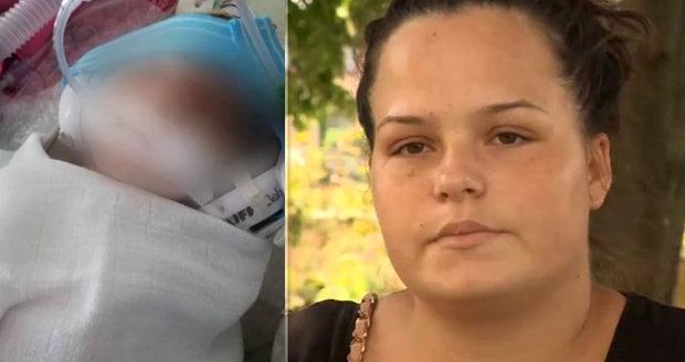 Dominika přišla dva dny po porodu o dítě. Ze smrti Samuela viní nemocnici