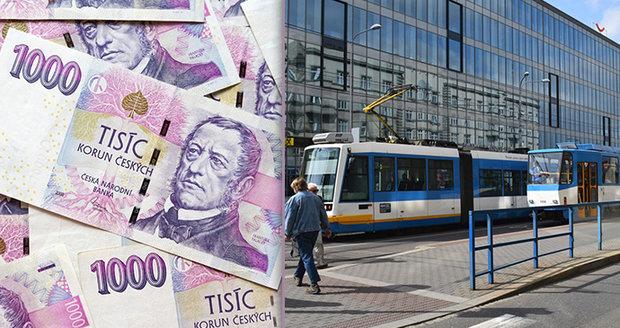 Zaměstnanci dopravního podniku Ostrava dostanou přidáno.