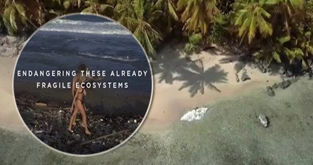 amatérská videa na pláži