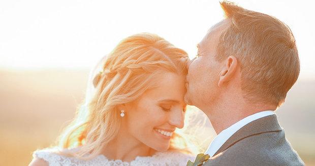 Svatba Filipa Švarce a Michaely Široké