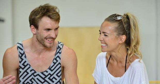 Lucie Vondráčková a Tomáš Zonyga