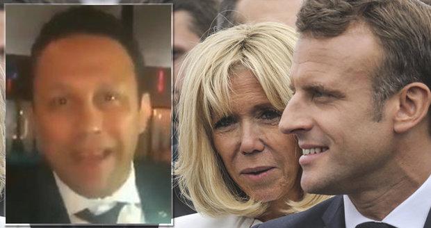 """Klaun Macron, """"šeredná"""" Brigitte a škrcení kuřecích krků. Prezidentský pár to zase schytal v Brazílii"""