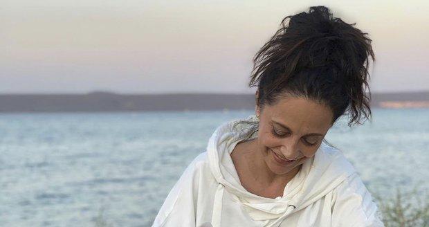 Lucie Bílá na dovolené v Chorvatsku