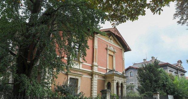Vila, ve které Marie a Přemysl žili.