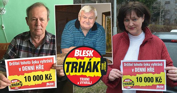 Výherci soutěže Blesk Trhák prozradili, co si za výhru koupili.