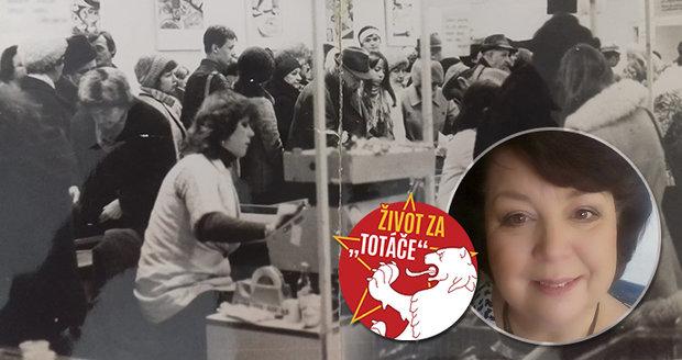 """21 let za pultem v Máji. Prodavačka Sylva: Pokladní byla """"někdo"""""""