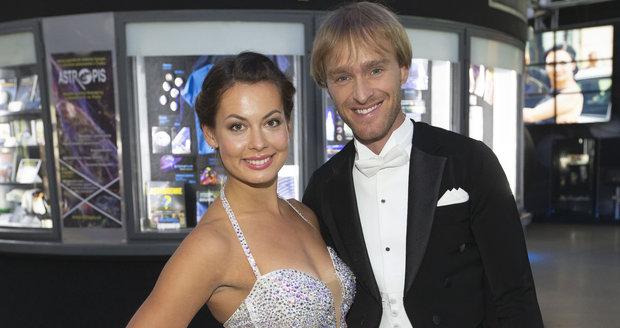 Jakub Vágner s tanečnicí Michaelou Novákovou