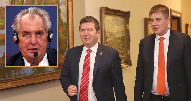 Petříček oduznání Kosova odmítá, Babiš s reakcí lavíruje. Hamáčka Zeman nepřekvapil
