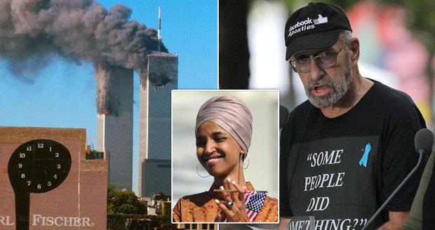 Matku mu 11. září zabili teroristi. Na pietě se obul do muslimské kongresmanky