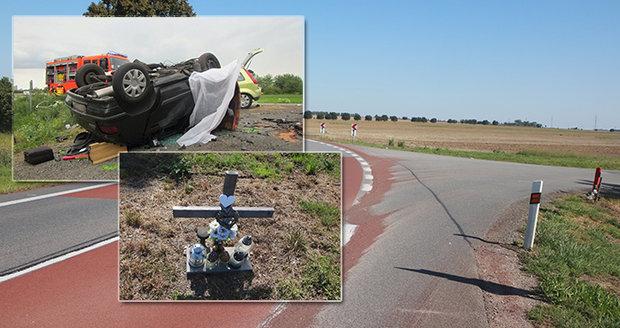 Zatáčku smrti u Vnorov chrání protismykový asfalt: Vyhasly tu čtyři životy