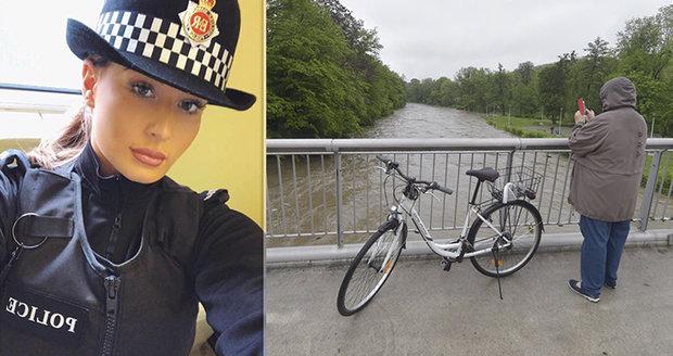 Policistka (24) skočila do řeky pro batole (†11 měs.). Bylo už pozdě