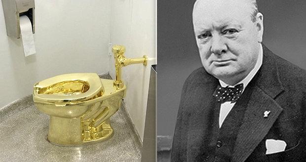 Z Churchillova domu ukradli zlatý záchod: Stál 29 miliónů korun. Podezřelým je důchodce