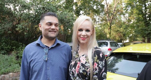 Jana Fabiánová s partnerem Dinem