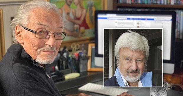Karel Gott a Jan Cimický
