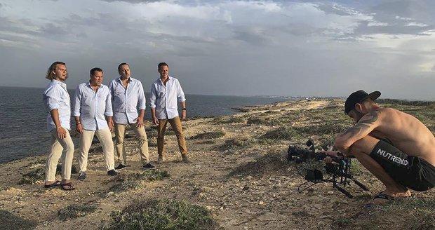 4 Tenoři v Tunisu natáčejí nový hudební klip