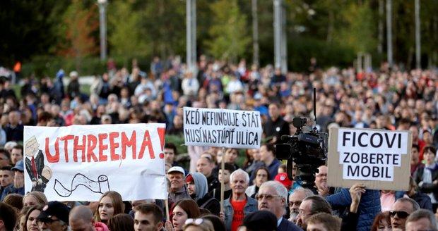 Slováci si připomněli vraždu novináře Kuciaka a jeho Martiny. Vláda prý selhává
