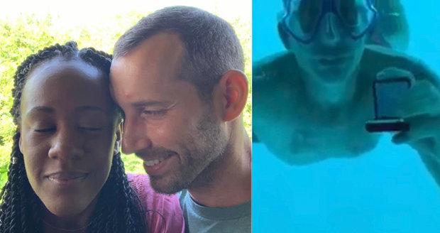 Romantický muž pod vodou žádal přítelkyni o ruku v luxusním resortu: Než mu řekla ano, utopil se